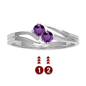 Sterling Silver Parenting Promise Ring