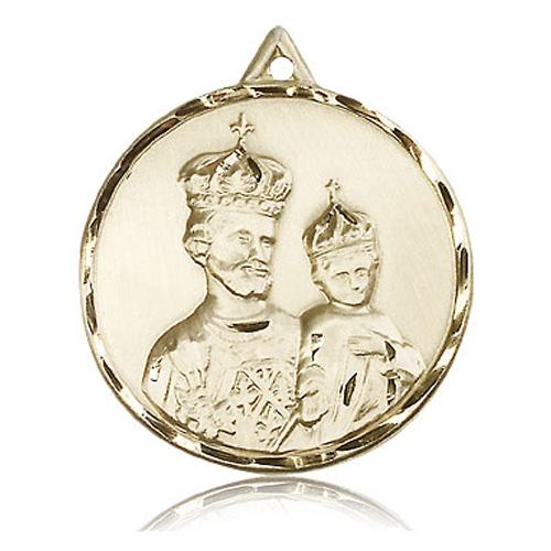 14kt Yellow Gold 1 3/8in St Joseph Medal
