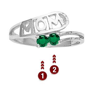Sterling Silver Children's Love Ring