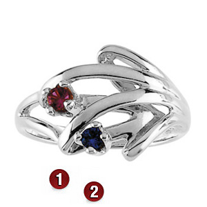 Family Nook Sterling Silver Mother's Ring