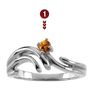 Sterling Silver Family Branches Ring