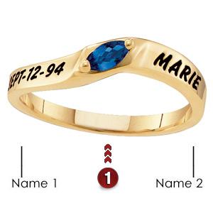 Loving Marquise Ring