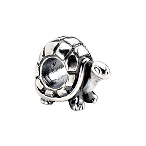 Sterling Silver Kera Turtle Bead