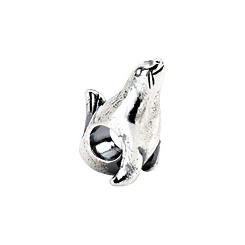 Sterling Silver Kera Seal Bead