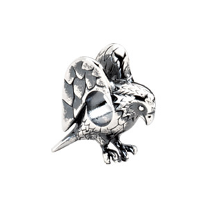 Sterling Silver Kera Eagle Bead