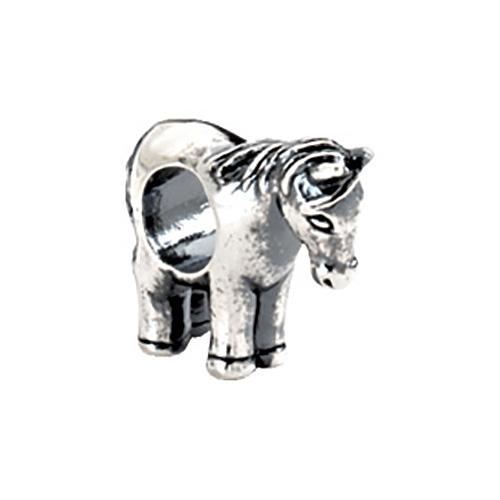 Sterling Silver Kera Horse Bead