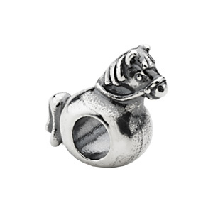 Sterling Silver Kera Rocking Horse Bead