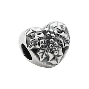 Kera Mistletoe Heart Bead