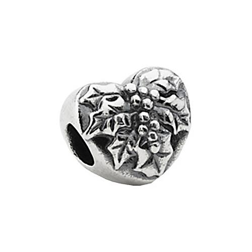 Kera Mistletoe Heart Bead