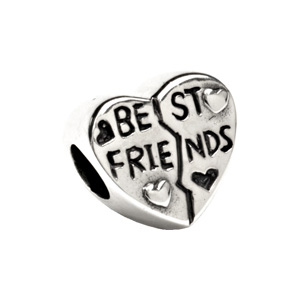 Kera Best Friend Heart Bead