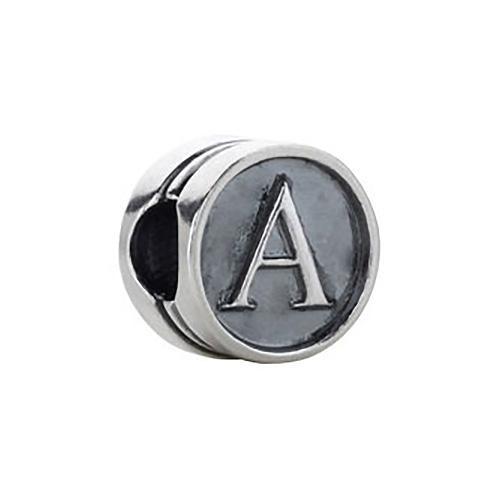 Kera Alphabet A Cylinder  Bead