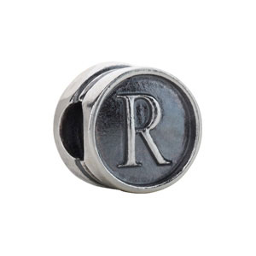 Kera Alphabet R Cylinder Bead