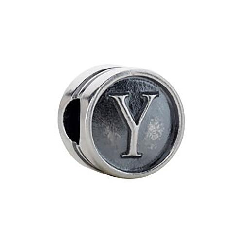 Kera Alphabet Y Cylinder Bead