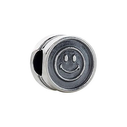 Kera Smiley Face Cylinder Bead