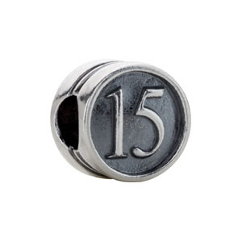Kera Year 15 Quincenera Cylinder Bead