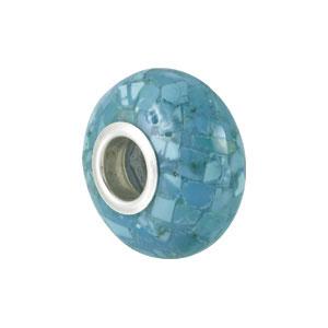 Kera Mosaic Turquoise Bead