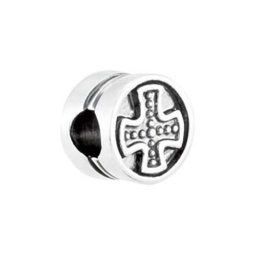 Kera Cross Cylinder Bead