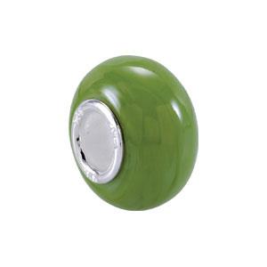 Kera Lime Green Glass Bead