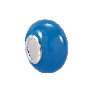 Kera Light Blue Glass Bead
