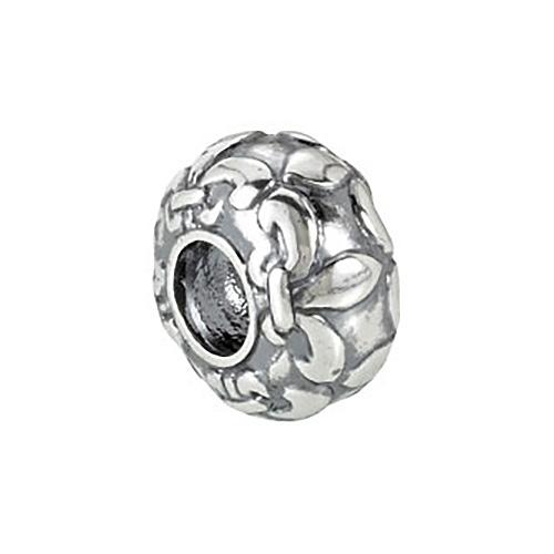 Sterling Silver Kera Fleur De Lis Bead