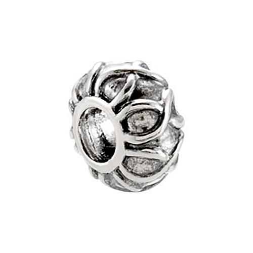 Sterling Silver Kera Decorative Bead