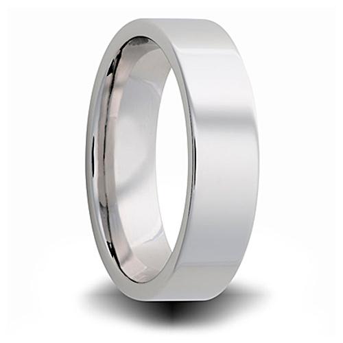 Cobalt 4mm Pipe Cut Ring