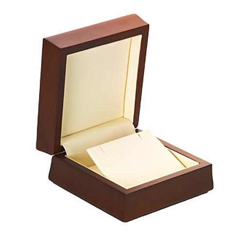 Amber Wood Pendant or Earring Box