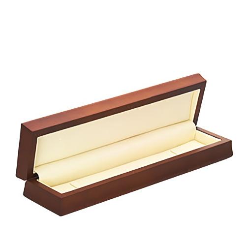 Amber Wood Bracelet Box