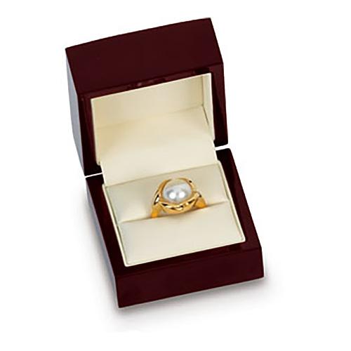 Beechwood Ring Box