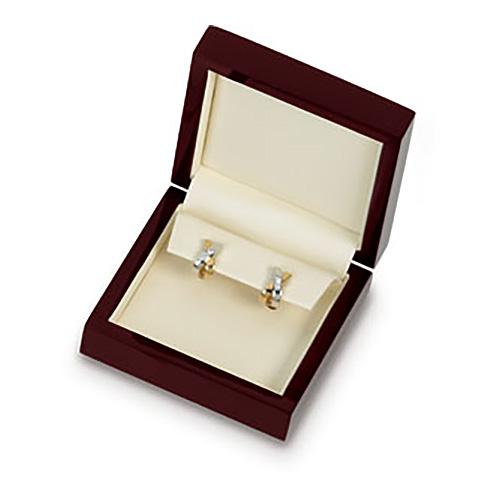 Beechwood Drop Earring Box