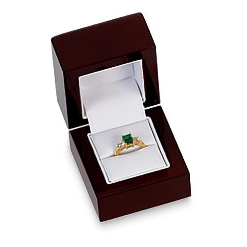 Cherrywood Ring Box