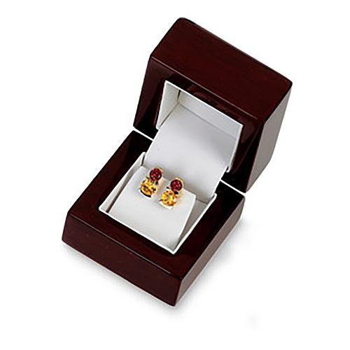 Cherrywood Earring Box