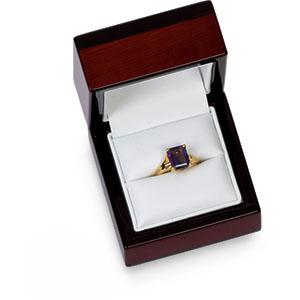 Maple Wood Ring Box