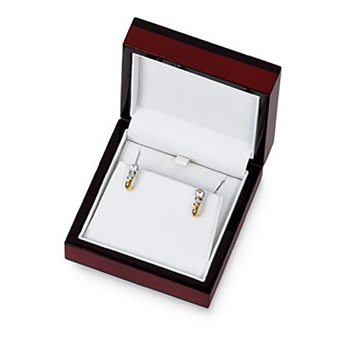 Maple Wood Large Earring or Pendant Box