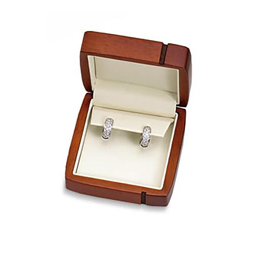 Regal Wood Earring Box