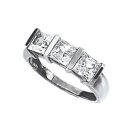 3.3 CT TW Cubic Zirconia Ring