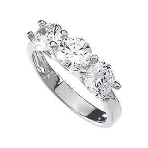 3 3/4 CT Cubic Zirconia Ring