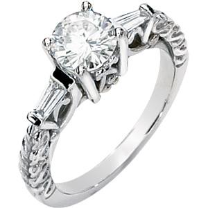 1 CT TW Moissanite Athena Ring