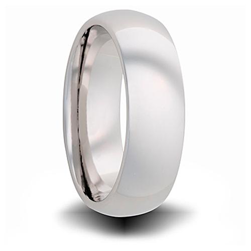Titanium 6mm Domed Ring