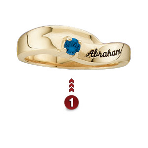 Mother's Ribbons Ring
