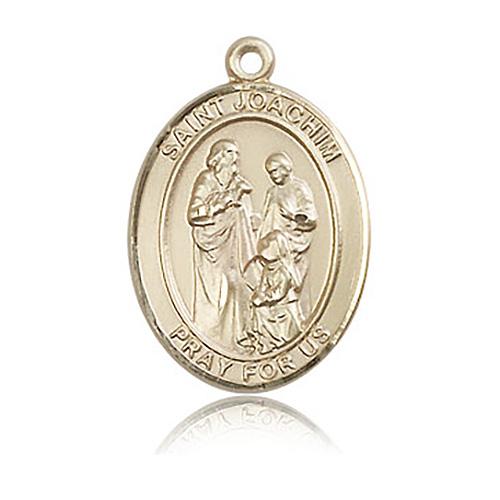 14kt Yellow Gold 1in St Joachim Medal