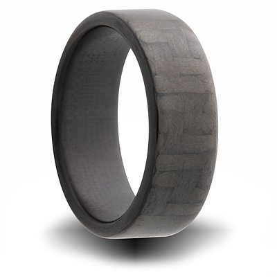 7mm Carbon Fiber Flat Ring
