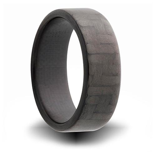 7mm Carbon Fiber Flat Ring
