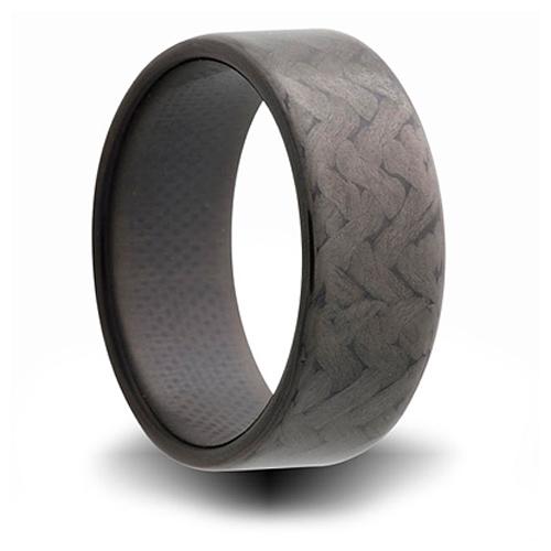 Carbon Fiber 8.5mm Flat Ring