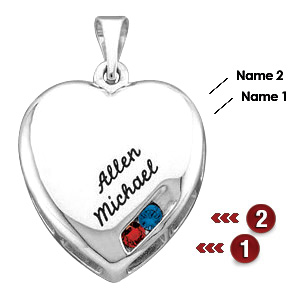Close To My Heart Sterling Silver Mother's Pendant