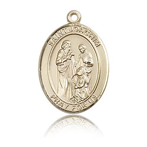 14kt Yellow Gold 3/4in St Joachim Medal