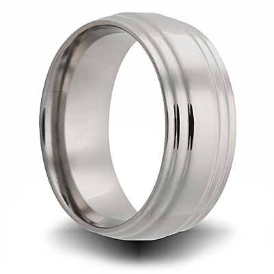 Titanium 8mm Step Down Ring