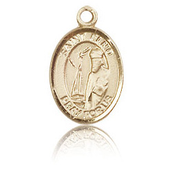 14kt Yellow Gold 1/2in St Elmo Charm