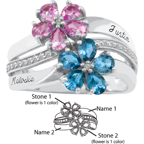Sterling Silver Aspire Promise Ring