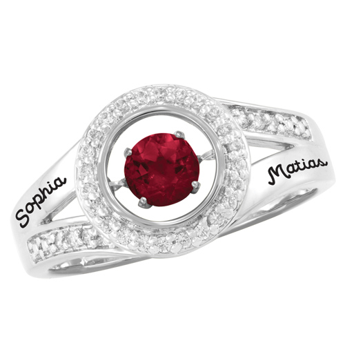 Sterling Silver Captivating Promise Ring